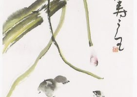 佛母的作品於國會展覽 CONGRESS HOLDS AN EXHIBITION OF THE ARTWORK OF DR. YUHUA WANG – 11/19/2008